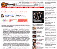 Materia do reverendo Fabio Massari sobre o livro Rock Raro